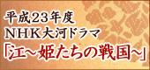 平成23年度NHK大河ドラマ「江~姫たちの戦国」