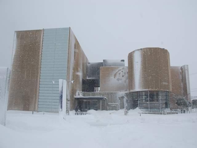 ed3caa037f 食文化館日記 » 大雪の食文化館