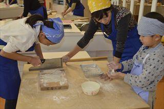 食文化館日記 » 蕎麦作りを開催しました! 103a5fcee2b