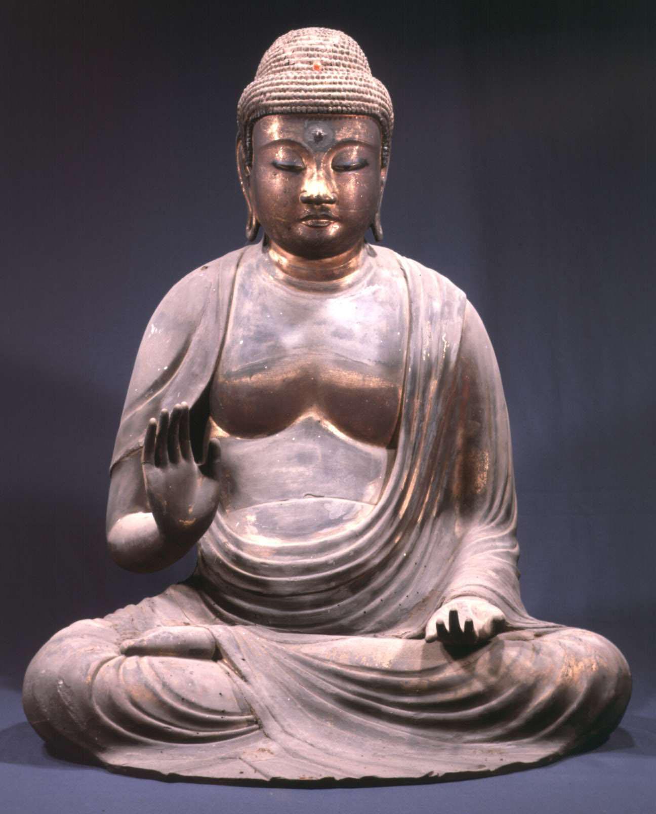 国分寺:木造阿弥陀如来坐像